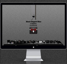 Black Elegant  Mac by Uriy1966