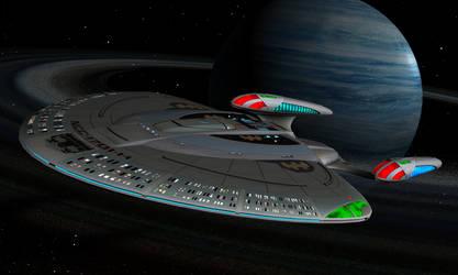 USS Enterprise NCC1701H by Kirtemor