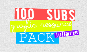 lullarie`100subscribers resource pack