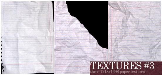 Paper Textures by boogiepop