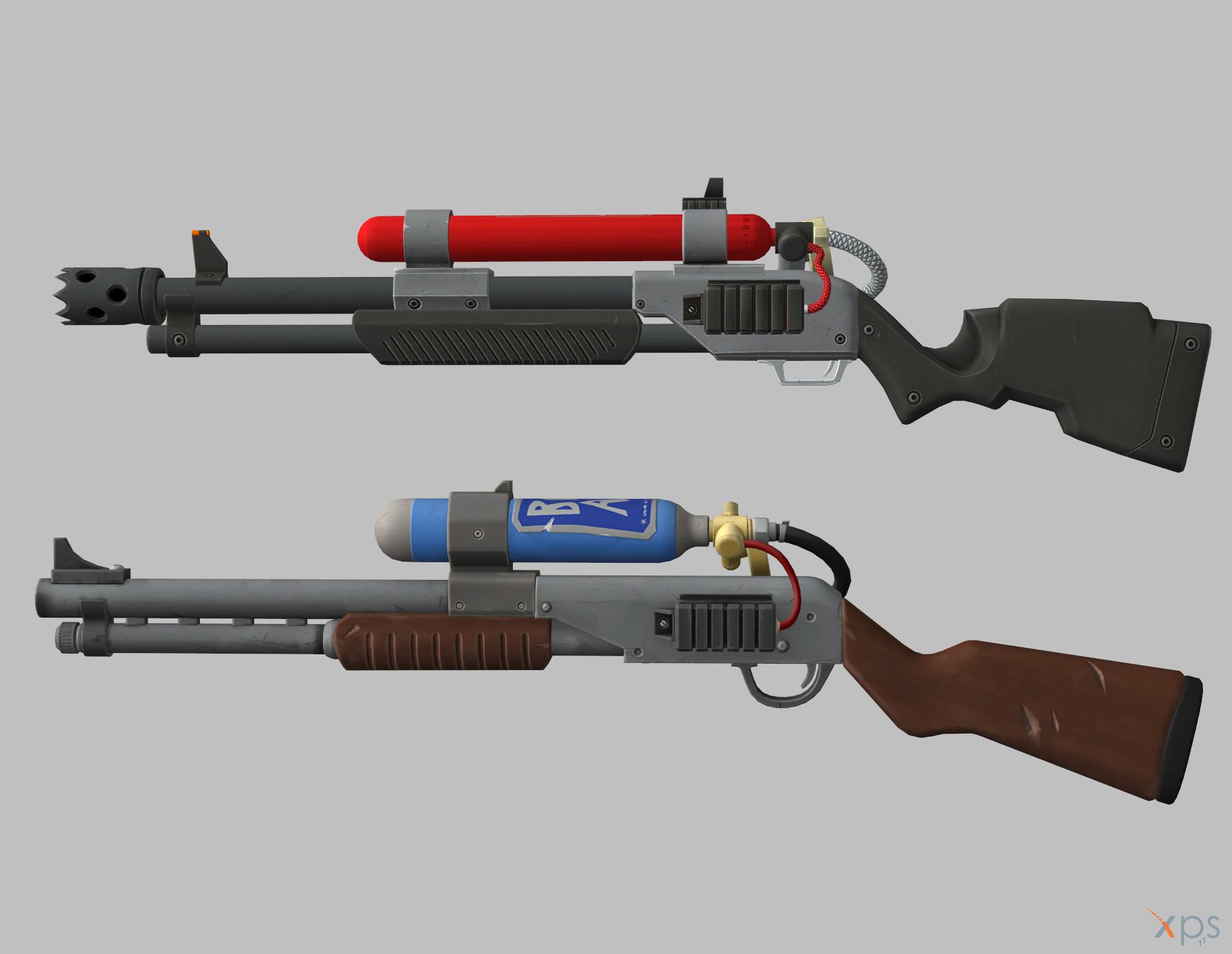 Fortnite Blunderbuss Pistol Fortnite Charge Shotgun By Vasiaklimov On Deviantart