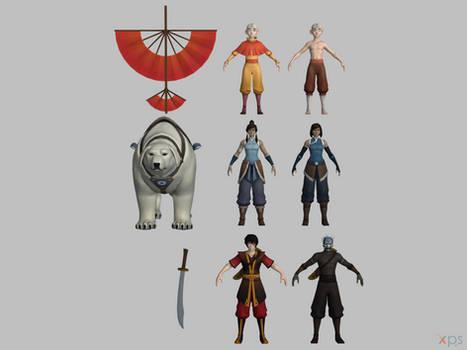 Smite - Avatar pack