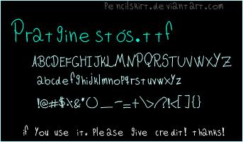 pratginestos font by pencilskirt