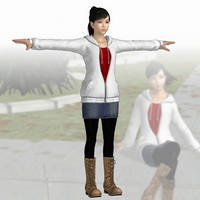 Haruka Sawamura (hoodie) Yakuza5