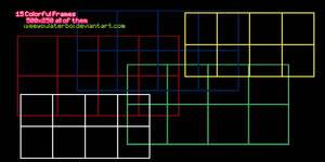 15 Colorful Frames