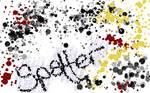 Spatter animated GIMP brush