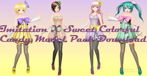 Imitation X Sweet Colorful Candy Pack by FlyingSpirits-P