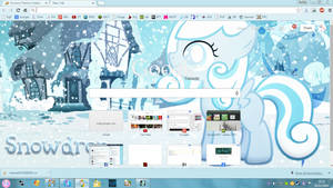 Snowdrop Google Chrome Theme v1.0