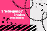 'retro grunge' brushes
