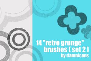14 more 'retro grunge' brushes by Sarah-Dipity