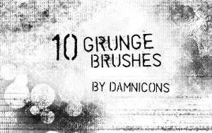 Grunge brush set 3 by Sarah-Dipity