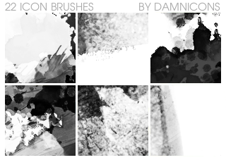 Icon Grunge Brushes by Sarah-Dipity