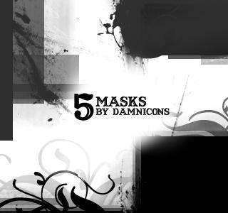 مجموعة فرش للتصميم من تجميعي More_Mask_Brushes_by_Sarah_Dipity