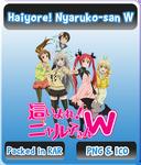 Haiyore! Nyaruko-san W - Anime Icon