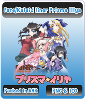 Fate/Kaleid liner Prisma Illya - Anime Icon by Rizmannf