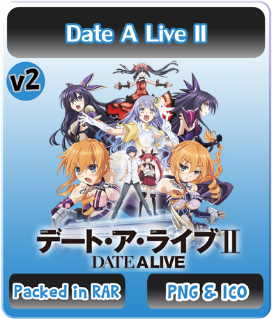 Date A Live II v2 - Anime Icon by Rizmannf on DeviantArt