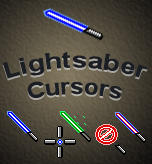 Light Saber Cursors by Bewilderbeast