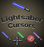 Light Saber Cursors by Bewilderbeast