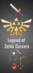 Legend of Zelda Cursors by Bewilderbeast