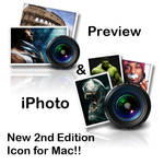 iPhoto, Preview Icon for Mac