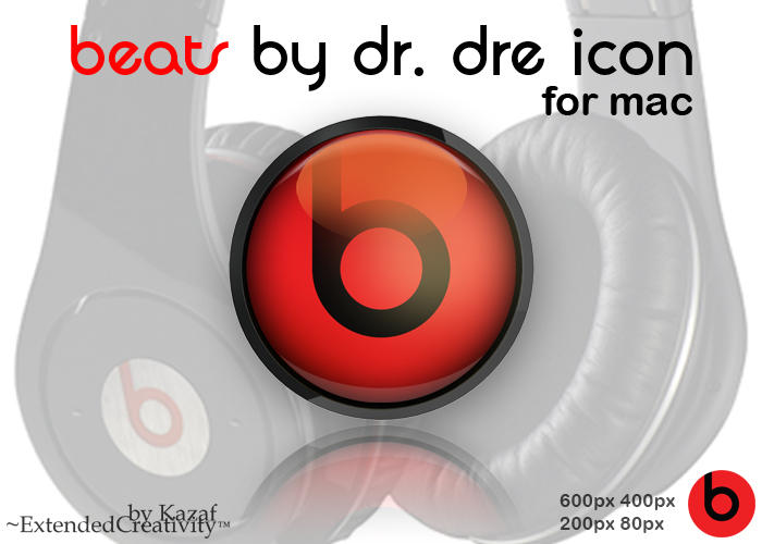 Beats by Dr. Dre icon for Mac by ExtendedCreativity
