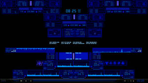 Digital Space-Blue