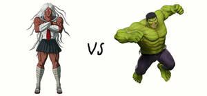 Sakura Ogami vs Hulk