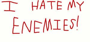 I Hate My Enemies!