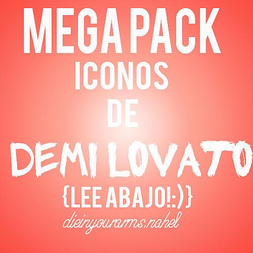 Mega Pack de Iconos de Demi Lovato by nahel94