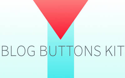 Blog Buttons Kit by Fraffee