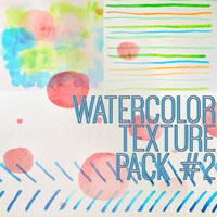 Watercolor Texture Pack # 2