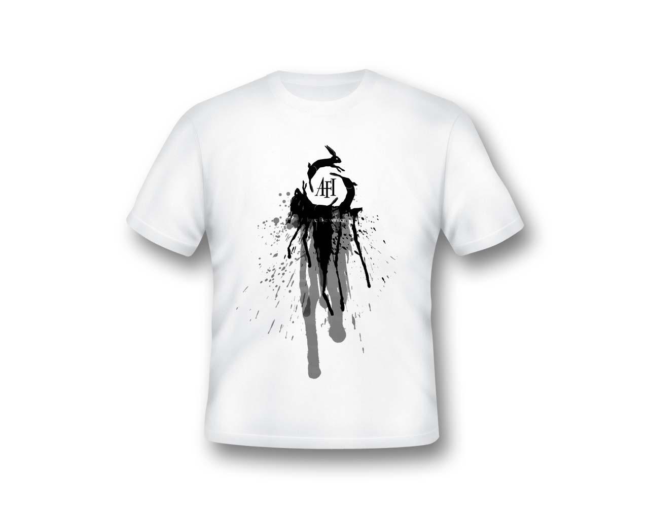 Camelfox's Logo T-Shirts Afi__love_like_winter__shirt_design_by_camelfox01-d5r977p