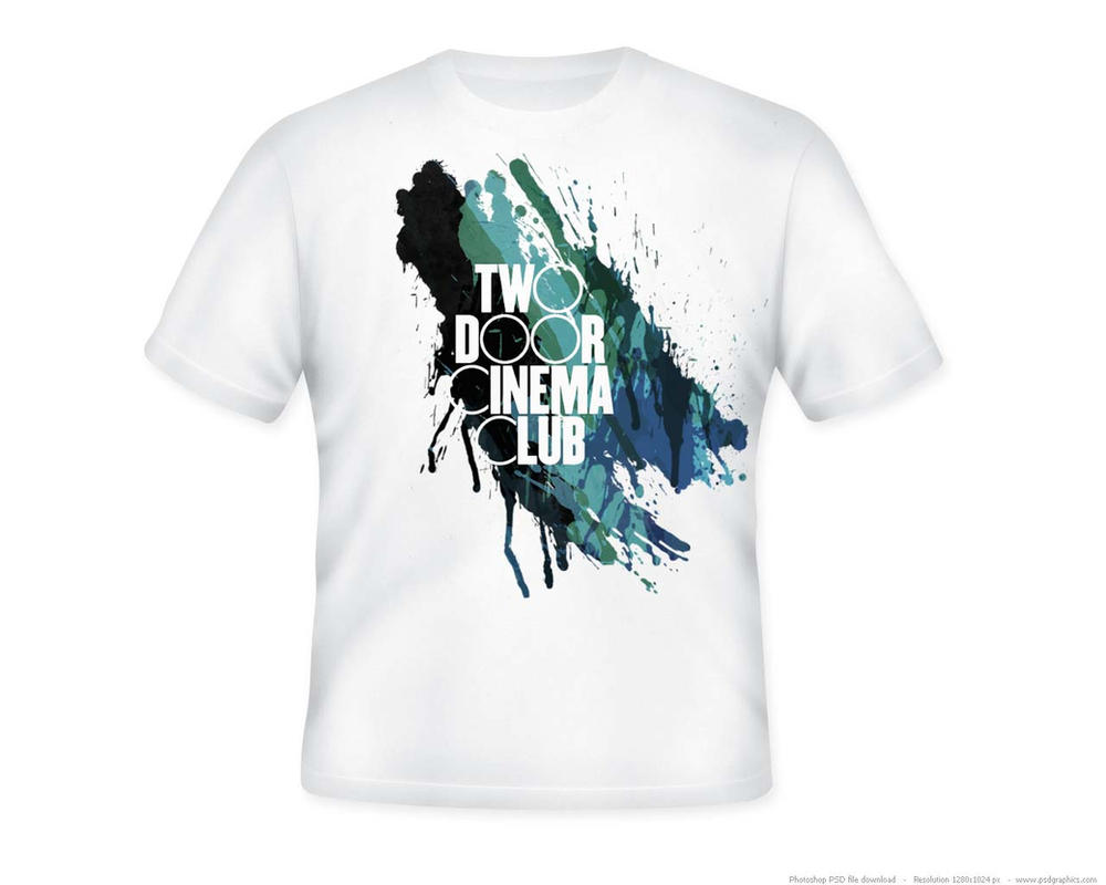 Two door cinema club t shirt design by camelfox01