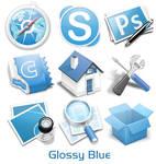 Glossy Blue