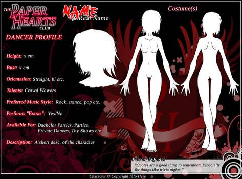 PH - Dancer Profile Template