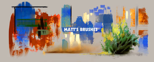 Matt's Brushpack by Juhupainting