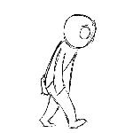 sad walk by zannywings