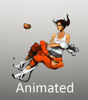 Portal 2 Slow Clap *Animated* by Null-Entity