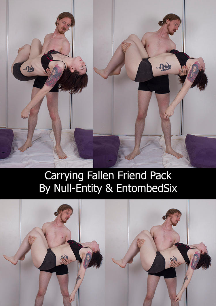 Carrying Fallen Friends Pack by Null-Entity