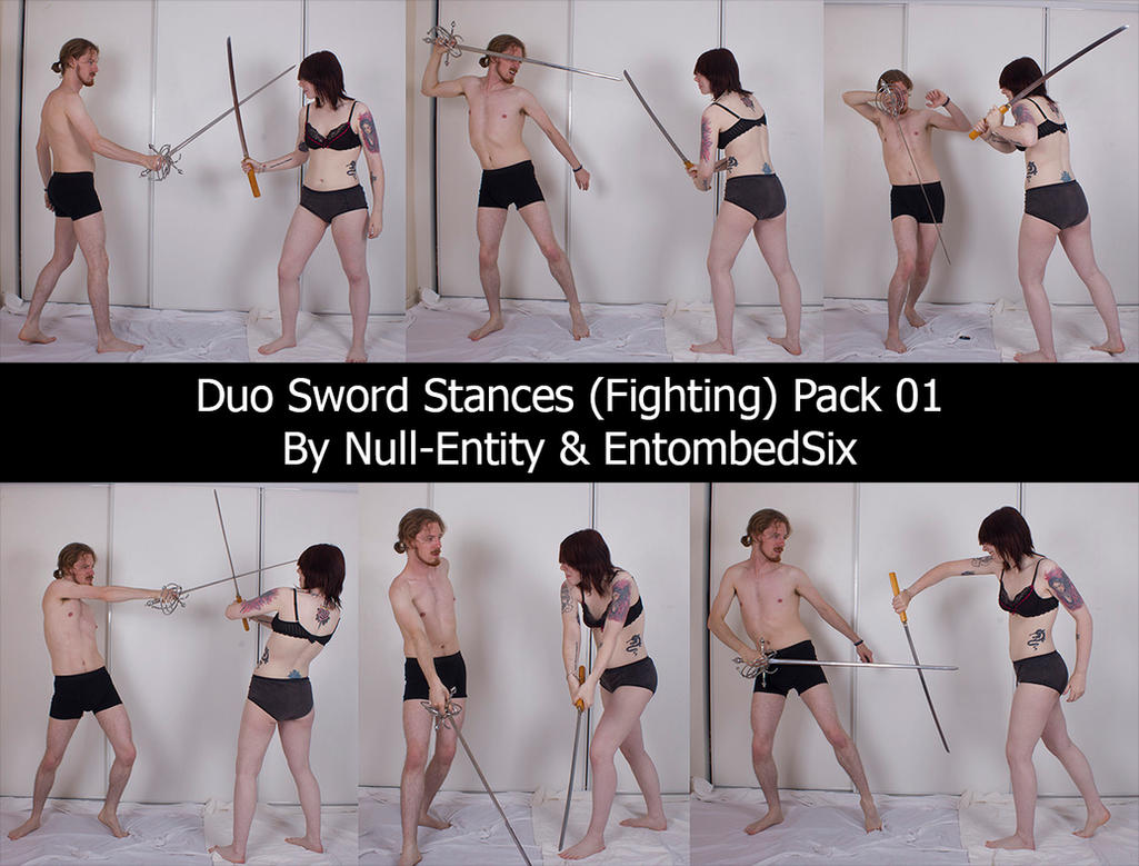 Duo Sword Stances (Fighting) Pack 01 by Null-Entity
