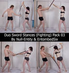 Duo Sword Stances (Fighting) Pack 03
