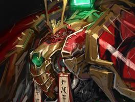 Mechanical Samurai Nobunaga Process by emersontung
