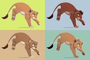 Free cub lineart (Upd in description) by YurikoSchneide