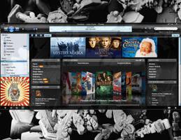 iVista skin for iTunes 7 by Omniety