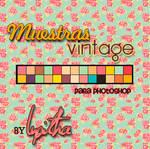 Muestas 'Vintage' para PS