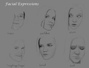 Real Facial Expressions