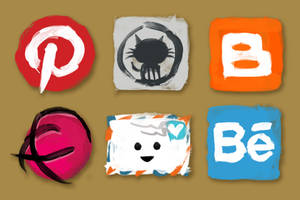Additional social media icons