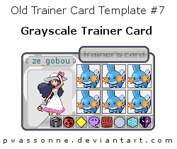 Old Trainer Card Template 7 by pwassonne