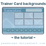 Trainer Card Backgrounds Tutorial