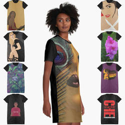Graphic T-Shirt Dresses by complexCity